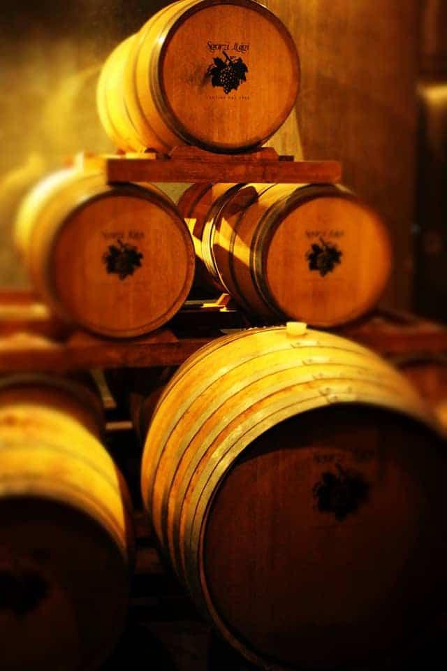 Cantine Sgarzi wijnvaten Wijnhandel Smit