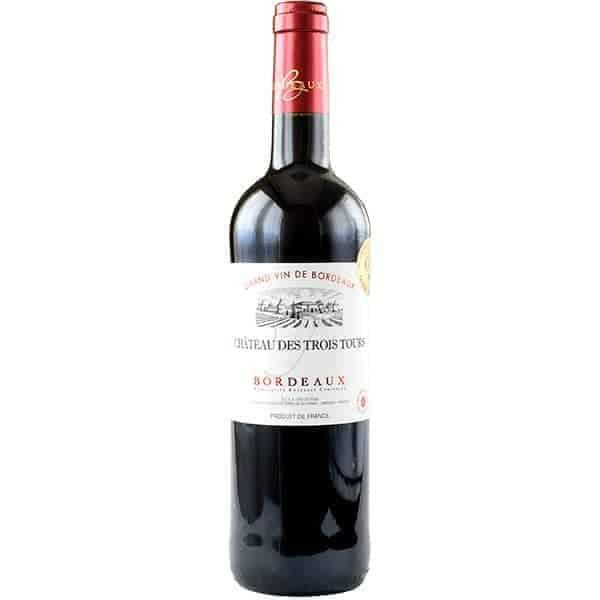 Chateau des trois tours, Bordeaux rood Wijnhandel Smit