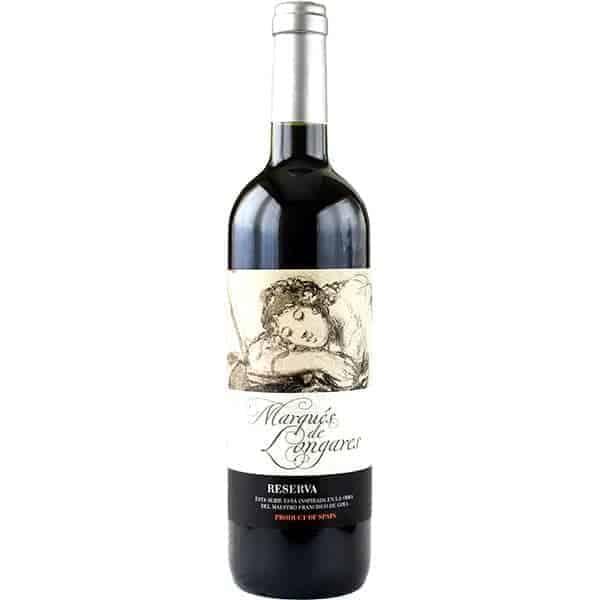 Marques de Longares, Reserva rood Wijnhandel Smit