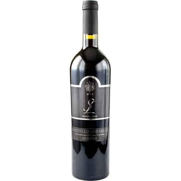 SL, Montepulciano D'abruzzo, riserva rood Wijnhandel Smit