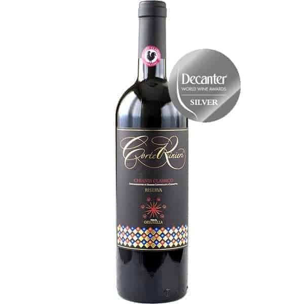Corte-Riniere-Chianot-Classico-riserva-decanter-world-wine-awards-silver-medal-2019-Wijnhandel-Smit