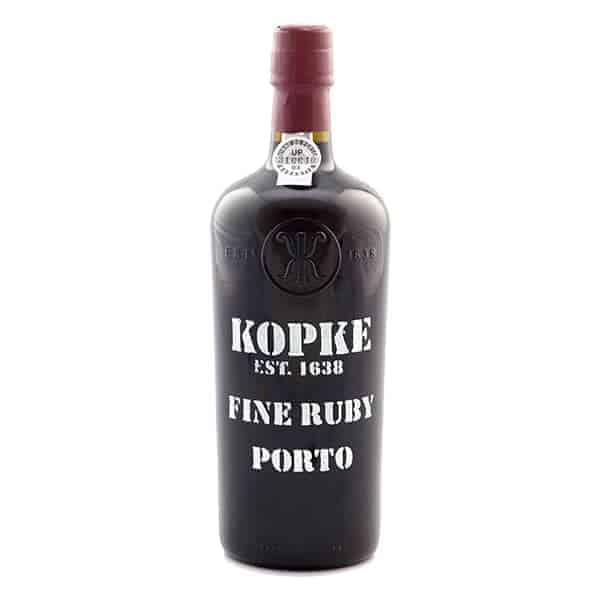 Kopke fine ruby porto Wijnhandel Smit