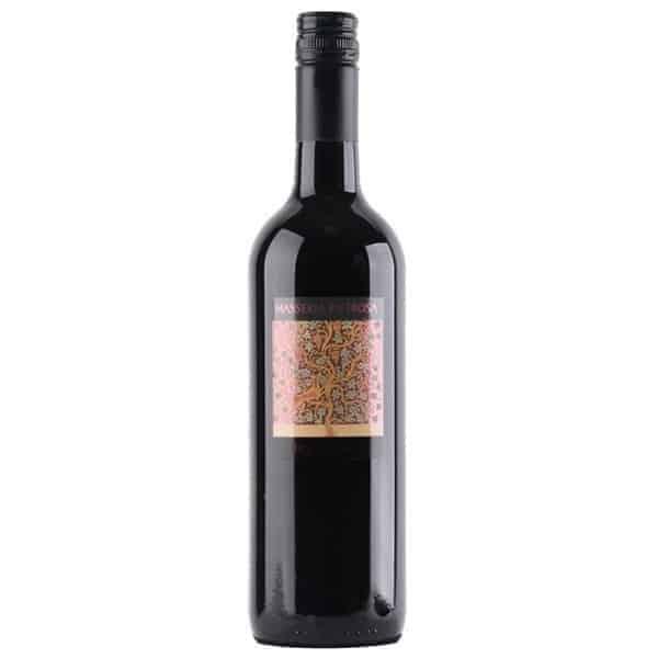 De wijn heeft een intens aroma van klein rood en zwart fruit, specerijen en tijm. De aanzet is vol, gevolgd door een lange, zwoele afdronk.