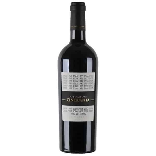 SAN MARZANO, VINO ROSSO D'ITALIA COLLEZIONE CINQUANTA + 2 Wijnhandel Smit