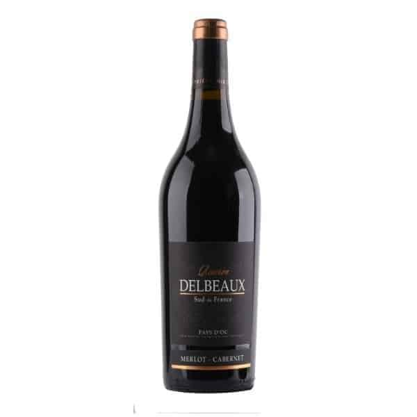 Delbeaux Reserve Rouge Merlot Cabernet Wijnhandel Smit