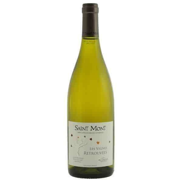 Les Vignes Retrouvees Blanc Saint Mont Wijnhandel Smit
