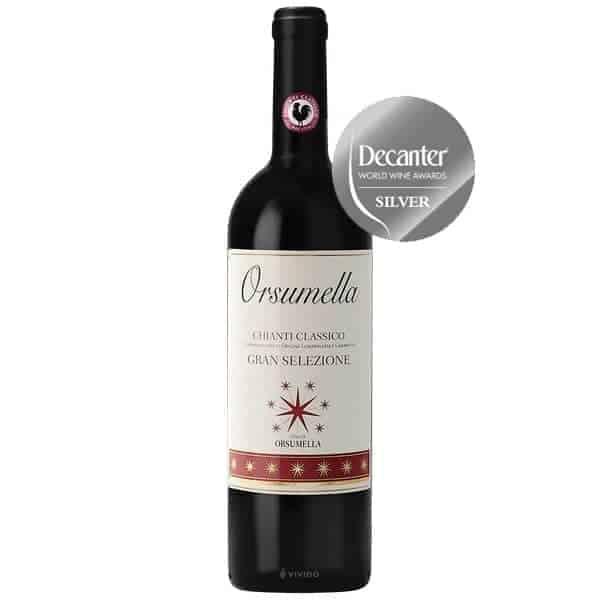 Orsumella-Chianti-Classico-Gran-Selezione-decanter-world-wine-awards-silver-medal-2019-Wijnhandel-Smit