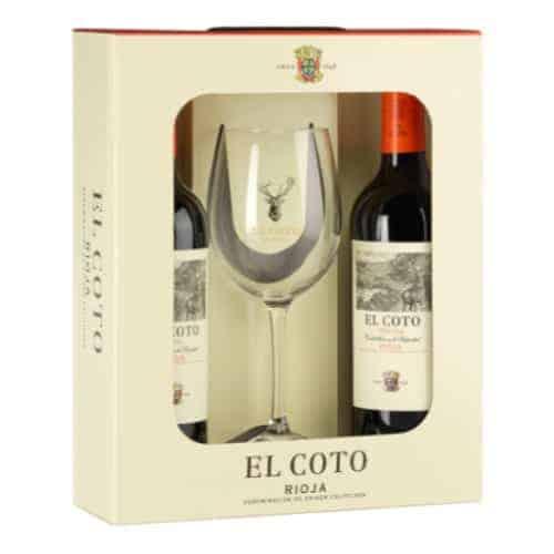 El Coto Crianza Giftpack met glas Wijnhandel Smit