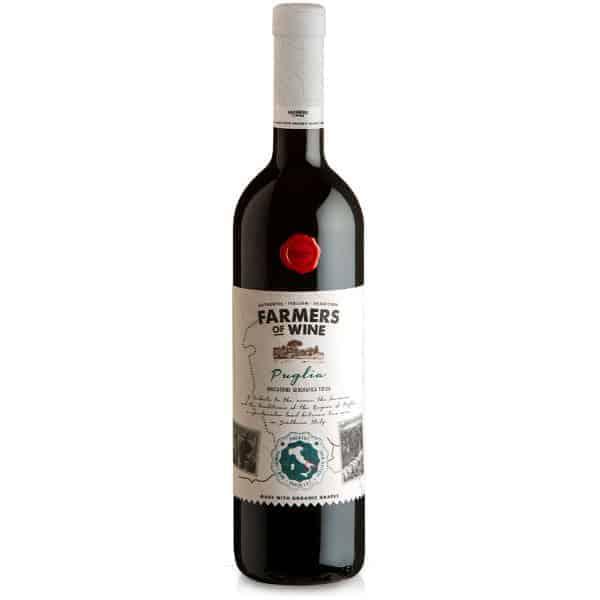 Farmers of Wine Rosso Puglia organic Wijnhandel Smit